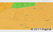 Political 3D Map of Choushuidun