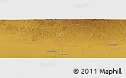 Physical Panoramic Map of Choushuidun