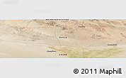 Satellite Panoramic Map of Choushuidun
