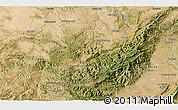 Satellite 3D Map of Godall