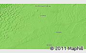 Political 3D Map of Hol Hudag