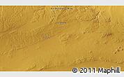 Physical 3D Map of Har Borog
