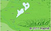 Political Map of Huntin Bulong