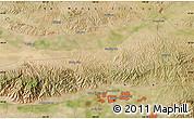 Satellite Map of Baotou