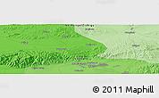 Political Panoramic Map of Baotou