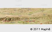 Satellite Panoramic Map of Baotou