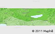 Political Panoramic Map of Jining