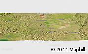 Satellite Panoramic Map of Jining