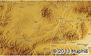 """Physical Map of the area around 40°50'23""""N,113°58'29""""E"""