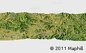 "Satellite Panoramic Map of the area around 40° 50' 23"" N, 115° 40' 30"" E"