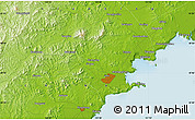 Physical Map of Baimiaozi