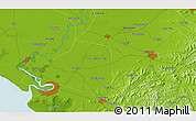 Physical 3D Map of Yubaizhuang