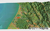 """Satellite 3D Map of the area around 40°50'23""""N,124°1'30""""W"""