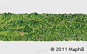 "Satellite Panoramic Map of the area around 40°50'23""N,125°1'30""E"