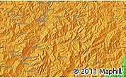 Political Map of Kanggye