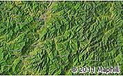 Satellite Map of Kanggye