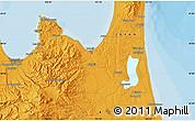 Political Map of Aomori