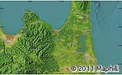 Satellite Map of Aomori