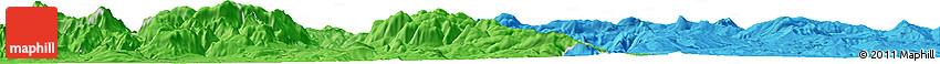 Political Horizon Map of Potenza