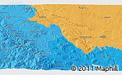 Political 3D Map of Venosa