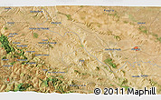 Satellite 3D Map of Venosa