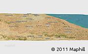 "Satellite Panoramic Map of the area around 40°50'23""N,17°4'30""E"