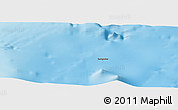 """Shaded Relief Panoramic Map of the area around 40°50'23""""N,1°46'29""""E"""