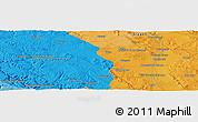 Political Panoramic Map of Calamocha