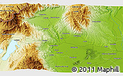 Physical 3D Map of Panayítsa