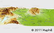 Physical Panoramic Map of Panayítsa