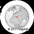 Outline Map of Philippi, rectangular outline