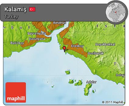Image result for kalamış haritası