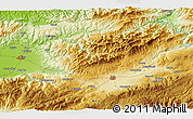 """Physical 3D Map of the area around 40°50'23""""N,31°31'29""""E"""