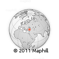 """Outline Map of the Area around 40° 50' 23"""" N, 34° 55' 29"""" E, rectangular outline"""