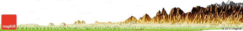 Physical Horizon Map of Göyçay