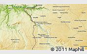 Physical 3D Map of Junça
