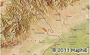 "Satellite Map of the area around 40°50'23""N,70°37'30""E"