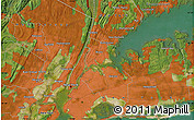"""Satellite Map of the area around 40°50'23""""N,73°52'30""""W"""