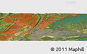 "Satellite Panoramic Map of the area around 40°50'23""N,73°52'30""W"