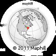 Outline Map of 669 Washington St, rectangular outline