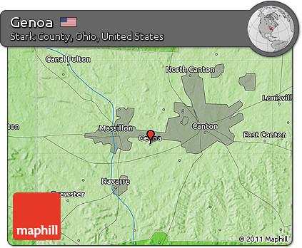 Genoa Ohio Map.Free Political Map Of Genoa