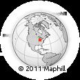 Outline Map of 226 S 750 E, rectangular outline