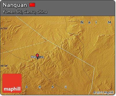 Physical Map of Nanquan