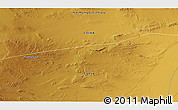 """Physical 3D Map of the area around 40°50'23""""N,99°31'30""""E"""