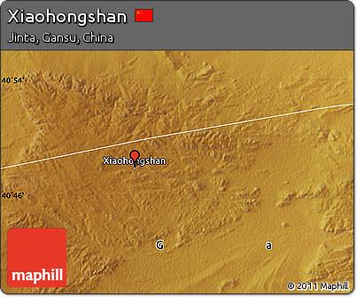 Physical Map of Xiaohongshan