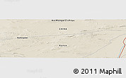 Shaded Relief Panoramic Map of Xiaohongshan