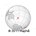"Outline Map of the Area around 40° 6' 0"" S, 174° 19' 29"" E, rectangular outline"