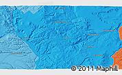 Political 3D Map of San Ignacio