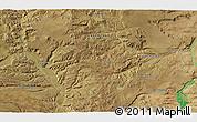 Satellite 3D Map of San Ignacio