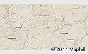 Shaded Relief 3D Map of San Ignacio